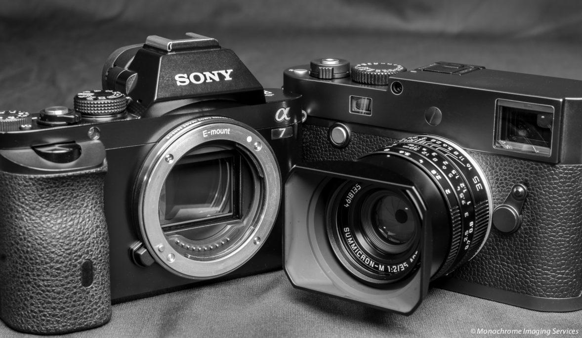 Sony vs  Leica